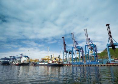 Махачкалинский торговый порт впервые начал перевалку подсолнечного масла