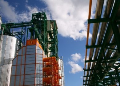 В Курской области продолжается строительство маслоэкстракционного завода