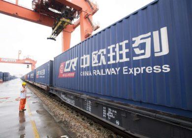Омская область отправила первую партию контейнерного поезда с семенами льна в Китай