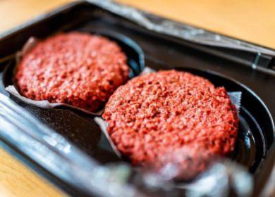 Российская компания Welldone запустила проект по производству растительного мяса