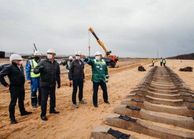 Строительство нового маслоэкстракционного завода идет в Курской области