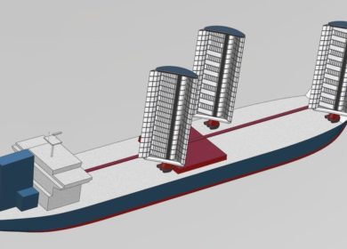 Cargill установит гигантские паруса на сухогрузы, перевозящие масла и биотопливо