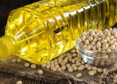 Производство украинского соевого масла сократилось практически на 20%