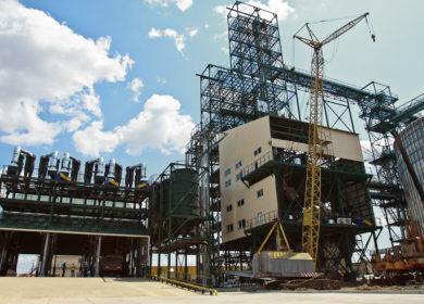 Строительство Староконстантиновского МЭЗа завершено на 70%