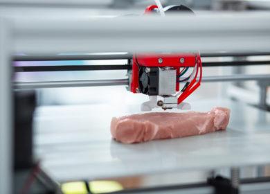 Израильский стартап напечатал первый в мире стейк рибай на 3D-принтере