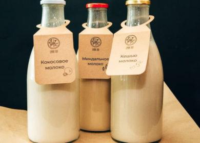 В России растет число производителей растительного молока