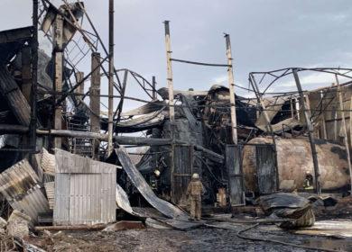 На МЭЗе в Харькове произошел взрыв резервуара