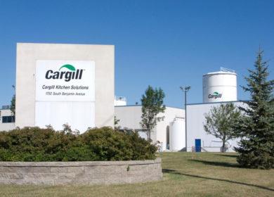 Cargill в ближайшие 3 года построит в Канаде новый завод по переработке канолы