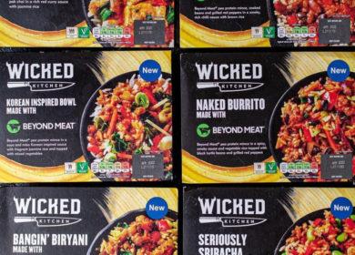 Wicked Kitchen и Beyond Meat запускают линейку готовых веганских блюд в Великобритании
