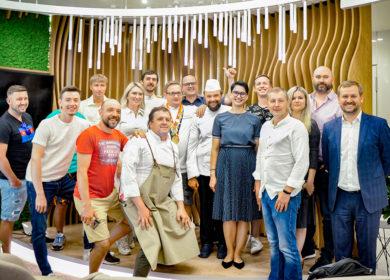 Сhefs Team Russia вошли во вкус «Еды будущего»