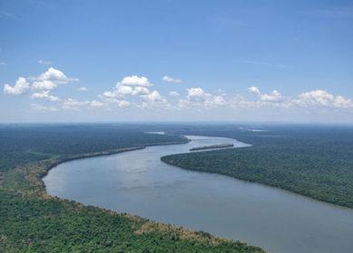 Аргентина объявила режим ЧС из-за крайне низкого уровня воды в р. Парана