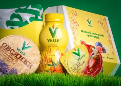 Утконос ОНЛАЙН первым представил новинки растительных напитков бренда Velle