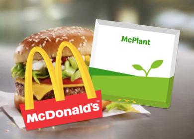 Бургер с растительным мясом McPlant дебютирует в ресторанах McDonald's в Англии и Ирландии